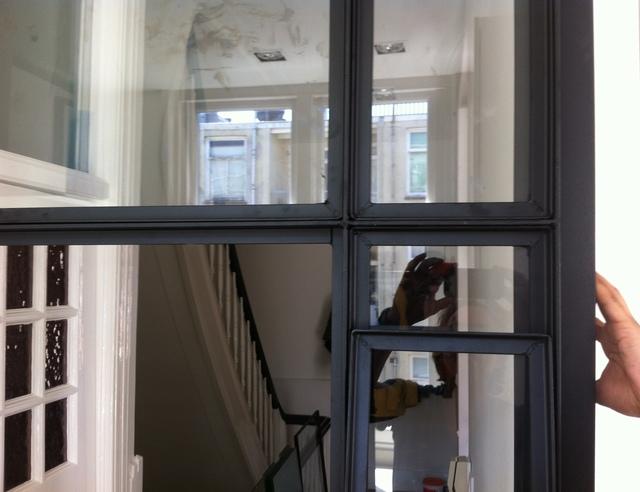 Stalen binnendeuren  raam  voordemakersnl