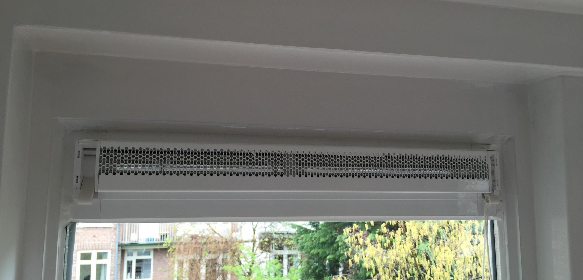 Ventilatierooster in raam TIP  voordemakersnl