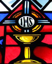 IHS represents Jesus\' name in Greek.