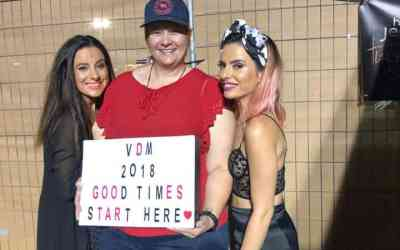 Remembering 2018 – The VIP Experience