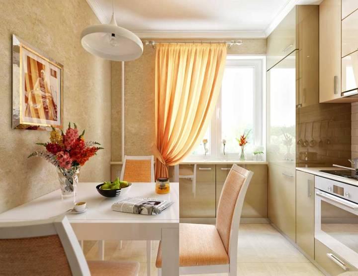 дизайн кухни 9 кв м фото 2