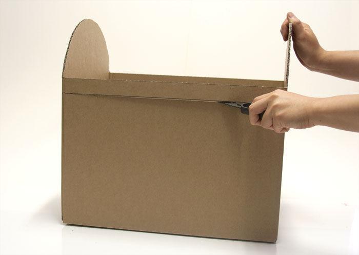 Como fazer um peito fora da caixa com suas próprias mãos (a chave principal)
