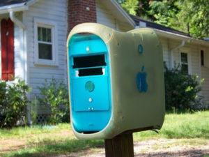 صندوق البريد من الوسائل الشائكة تفعل ذلك بنفسك