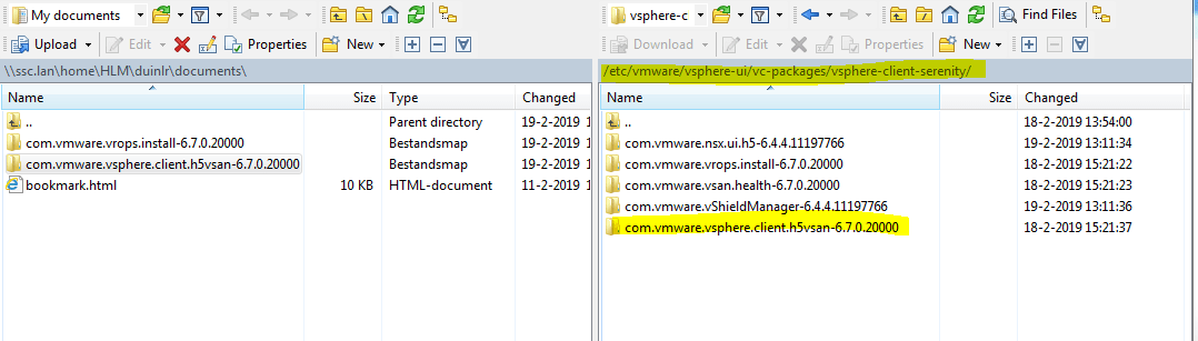 Fresh deployed vCenter 6 7U1 missing vSAN options in HTML5