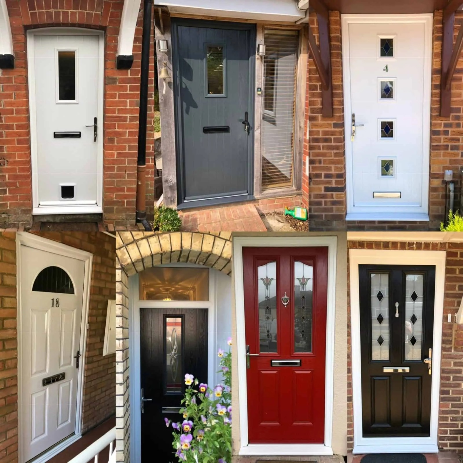 various doors for the house