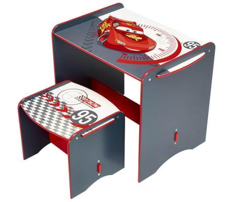 disney bureau et tabouret pour enfants cars 68 x 40 x 57 cm worl320012