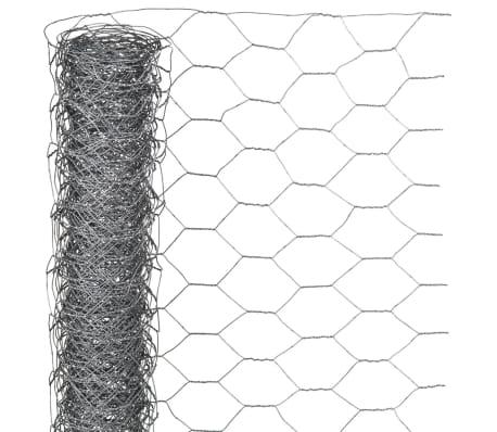 Nature Gaas zeshoekig 0,5x5 m 13 mm gegalvaniseerd staal