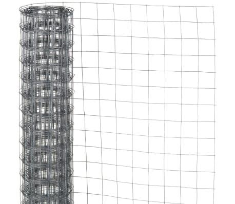Nature Gaas vierkant 0,5x5 m 13 mm gegalvaniseerd staal