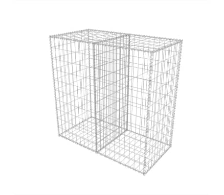vidaXL Gabion Basket Steel 39.4