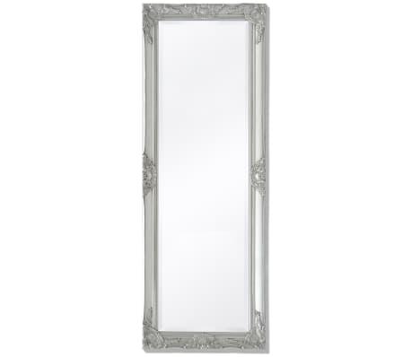 Vidaxl Miroir Mural Style Baroque Blanc Miroir Chambre Salle Bain Decoration Cuisine Maison Ameublement Et Decoration