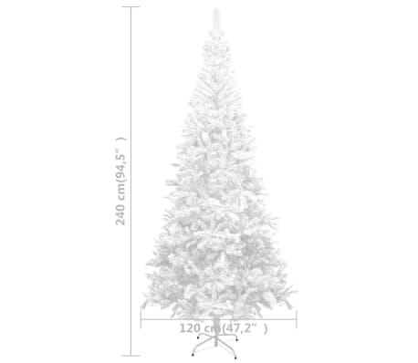 vidaXL Sztuczna choinka 240 cm, biała sklep internetowy
