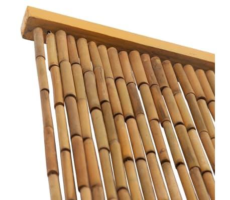 vidaxl rideau de porte contre insectes bambou 120 x 220 cm