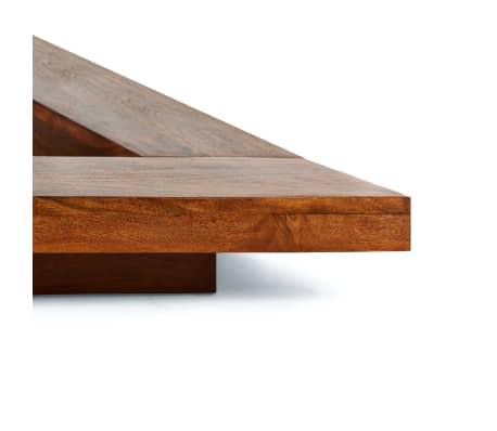 vidaxl cadre de lit futon style japonais bois massif 160x200 cm