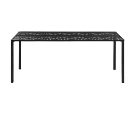vidaXL Outdoor Dining Table Steel 70.9