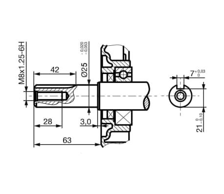 vidaXL Benzinemotor 15 PK 9,6 kW zwart online kopen