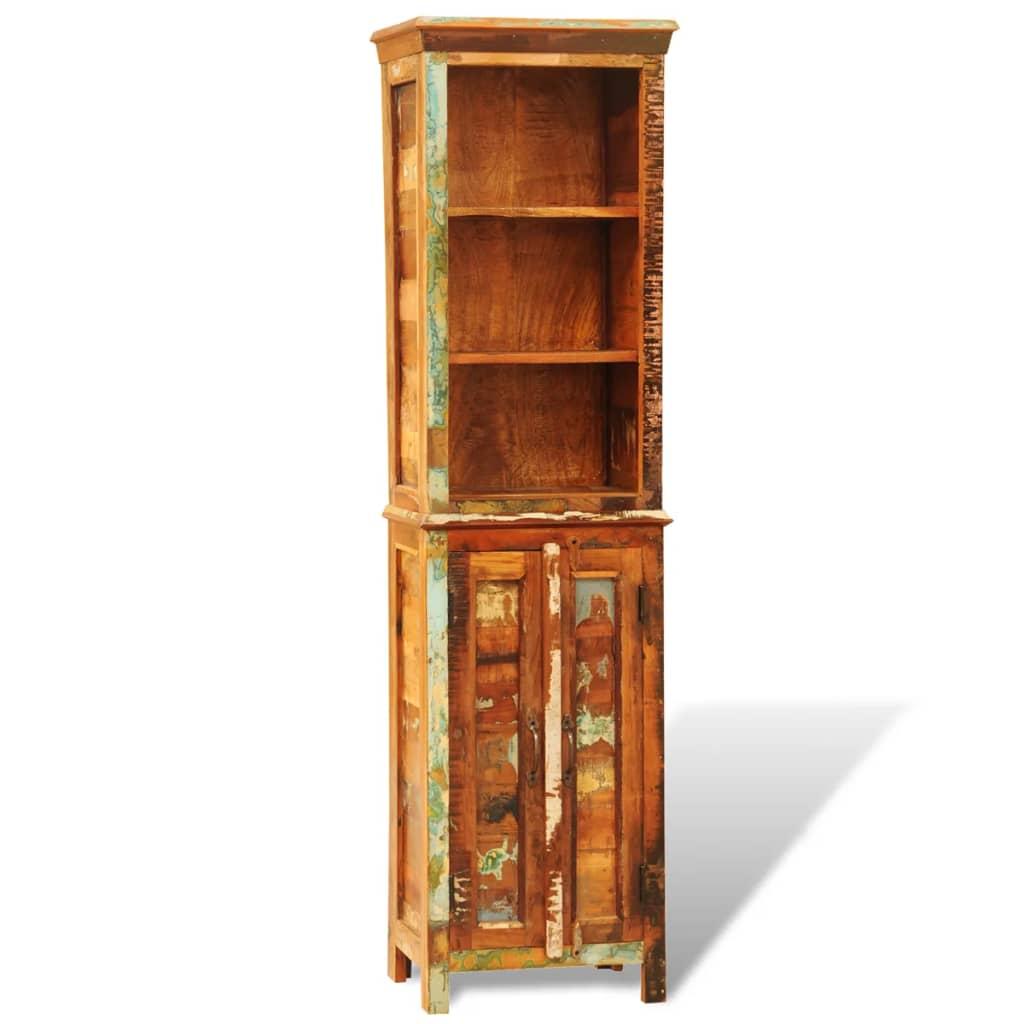 Vintage Style Reclaimed Solid Wood Bookshelf Vidaxl Com