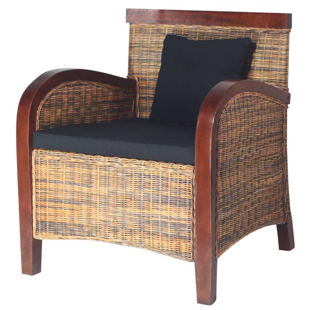 fauteuil rotin