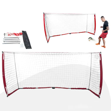 Pure2Improve voetbaldoel 365 x 183 cm wit/rood online