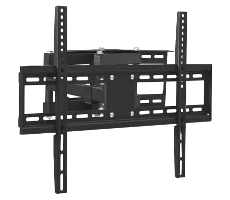 vidaxl support mural tv d angle a mouvement complet 23 65