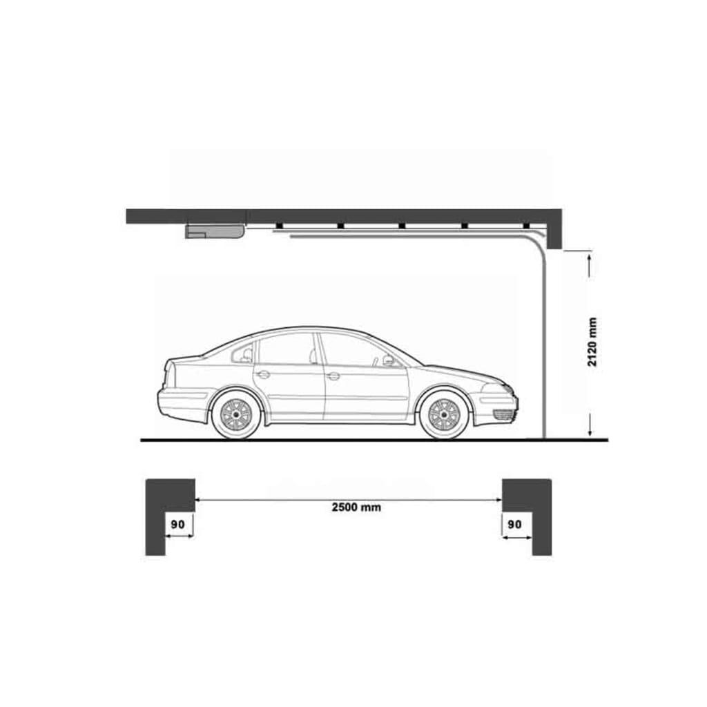 Elektrische garagedeur + afstandsbedieningen online kopen