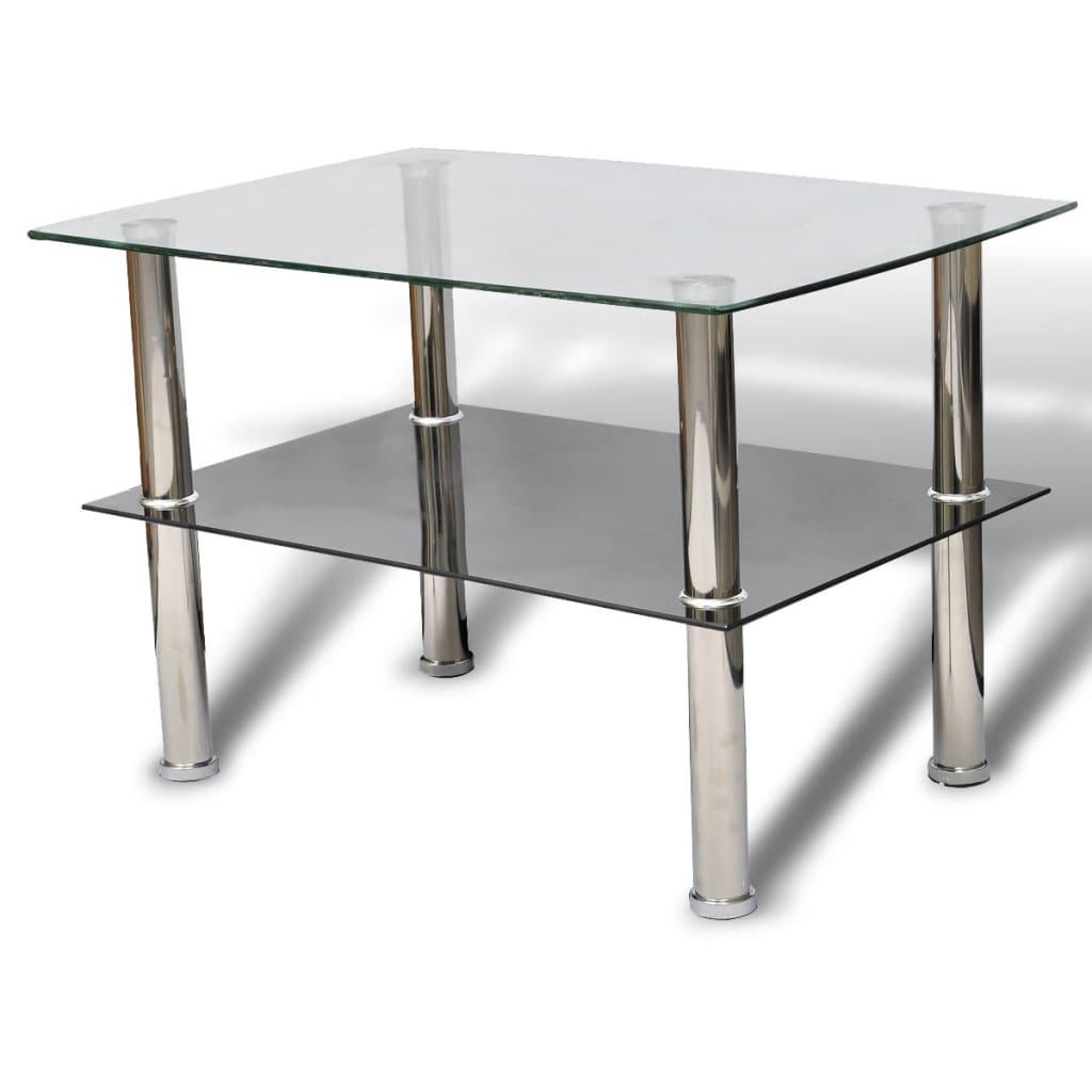Szklany stolik do kawy dwupoziomowy sklep internetowy