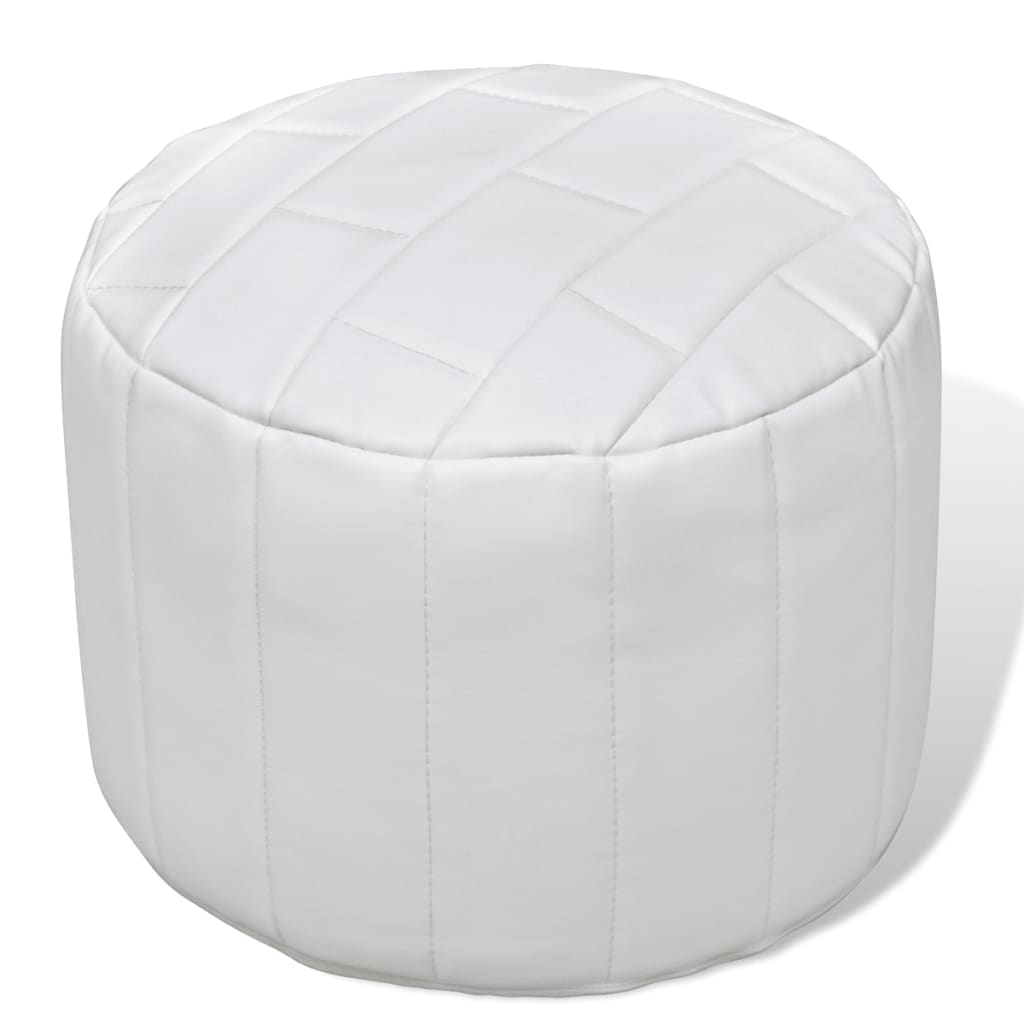 Pouf Contemporain Pouf Repose Pied Contemporain Avec Un Design Simple