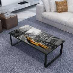 Coffee Table For Side Of Sofa Bed Warehouse Birmingham Rectangular Print On