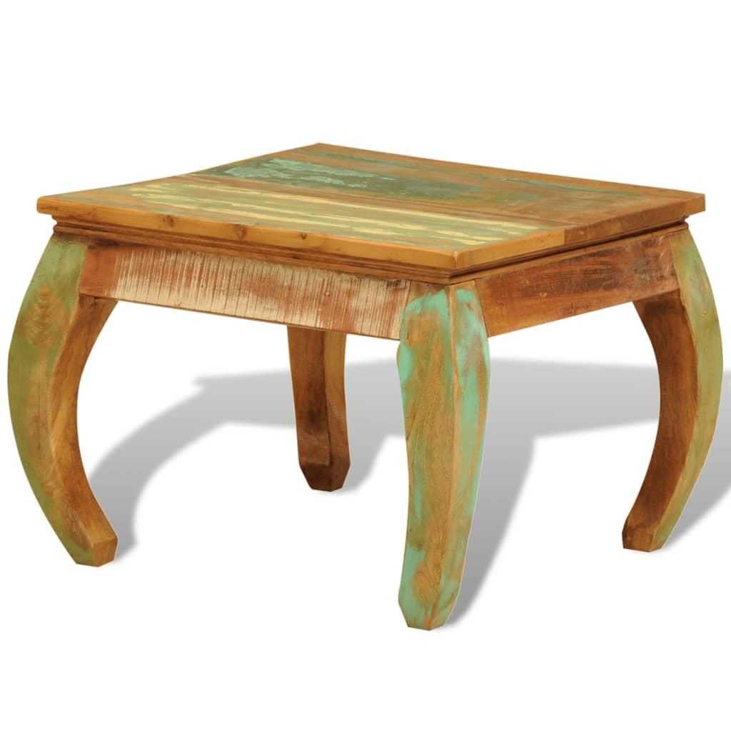 Reclaimed Wood Coffee Table Vintage Antiquestyle  vidaXLcom