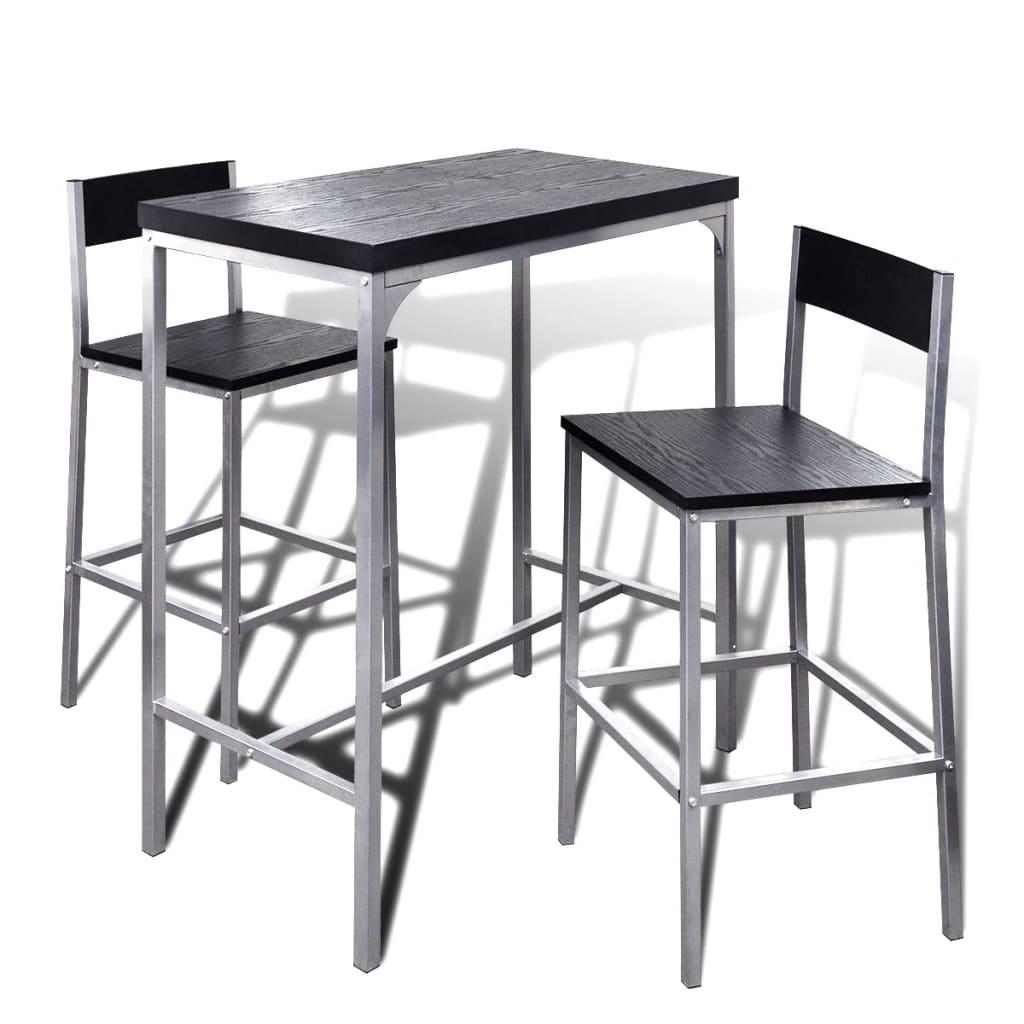 Tavolo alto con sgabelli penisola in cucina un bancone snack con
