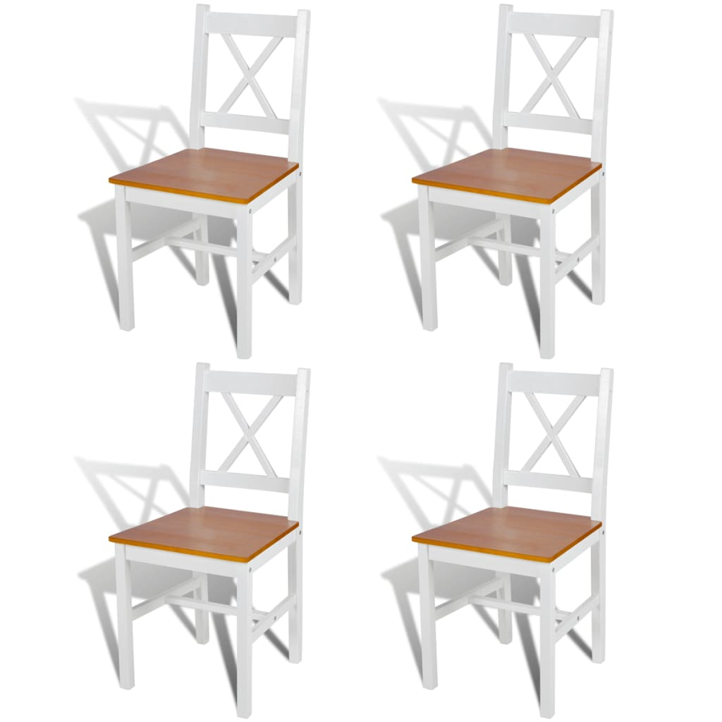 Witte Houten Eetkamerstoelen.Houten Eetkamerstoelen Wit Furniture Brown Polished Wooden Dining