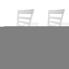 Solid Wood Chairs Yellow Dining Room 2 Pcs Brown White Vidaxl Co Uk