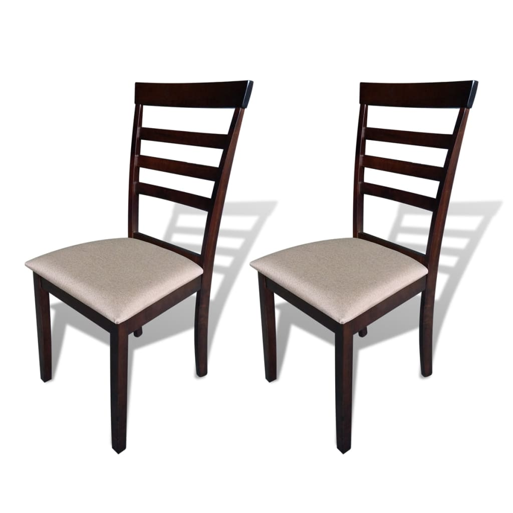 6 Dining Room Chairs Vidaxl 2 4 6 8x Wooded Dining Chair Kitchen Living Room