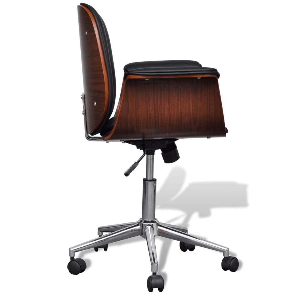 swivel chair sale uk v rocker gaming cables adjustable office artificial leather vidaxl