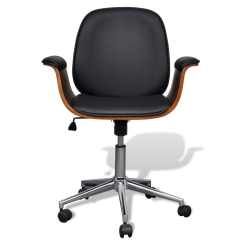 Swivel Chair Sale Uk Contemporary Outdoor Rocking Adjustable Office Artificial Leather Vidaxl