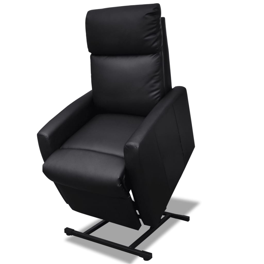 amazon recliner chairs how much are massage 2-position electric tv lift chair black | vidaxl.com