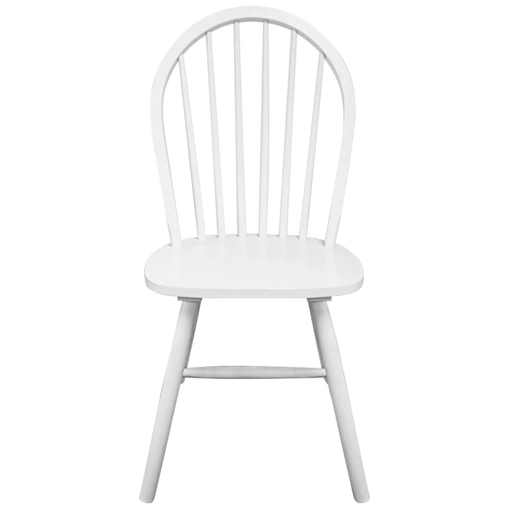 round wooden chair big lots zero gravity 2 dining chairs white vidaxl co uk