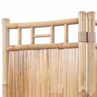 3-Panel Bamboo Room Divider | vidaXL.co.uk