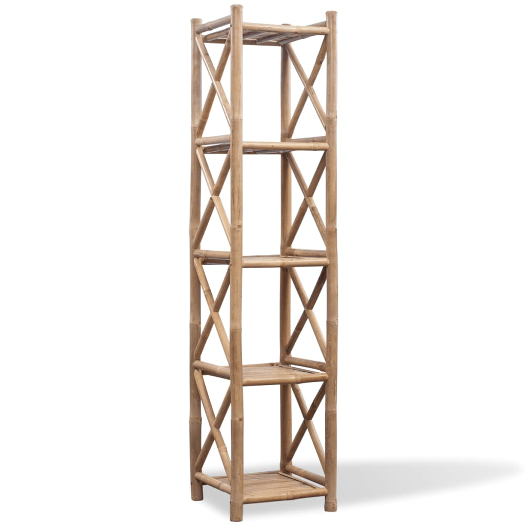 chair covers for sale ireland design contest 5-tier square bamboo shelf | vidaxl.co.uk