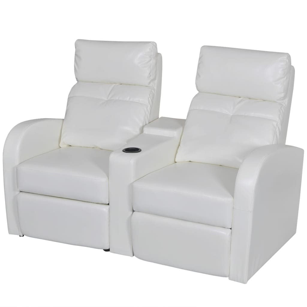 theater chairs with cup holders bamboo chair repair artificial leather home cinema recliner reclining sofa 2