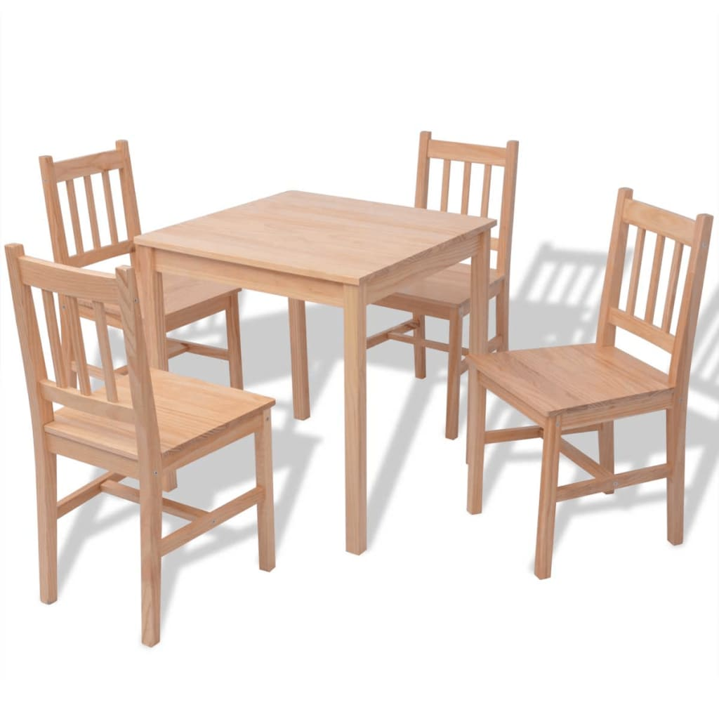kitchen chairs modern large deck chair 5 piece 1 dining table and 4 set home