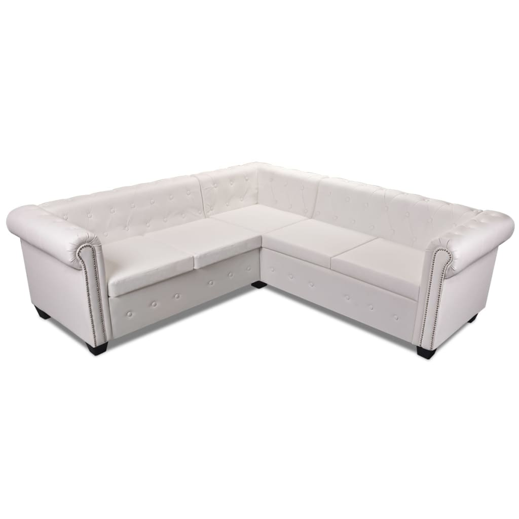 antwerp chaise sofa bed lounge simple wooden set online vidaxl 5 seater chesterfield corner leather couch