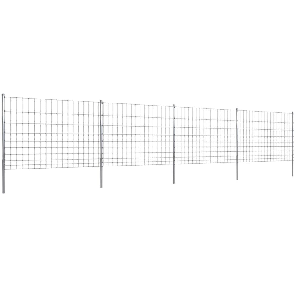 Step-In Fence 50 m with Post Galvanized Wire Fence 120/10