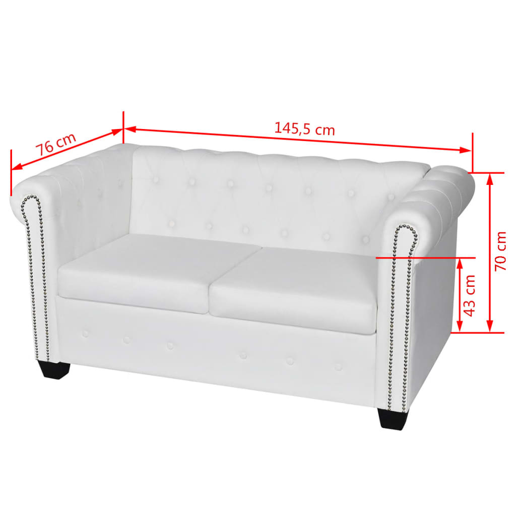 2 seater chaise sofa bed oxford grey linen tufted black white 3 432 chesterfield leather
