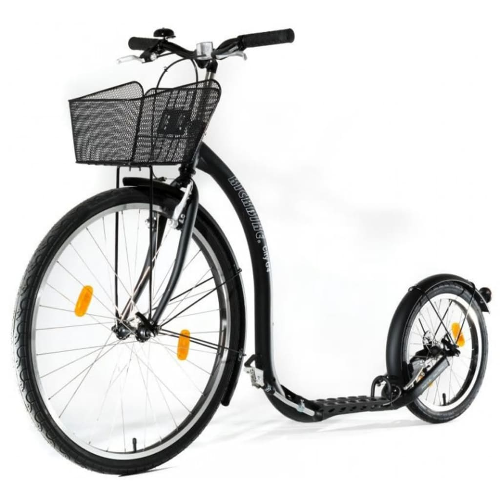Kickbike Scooter City G4 with Basket Black kbci-bla