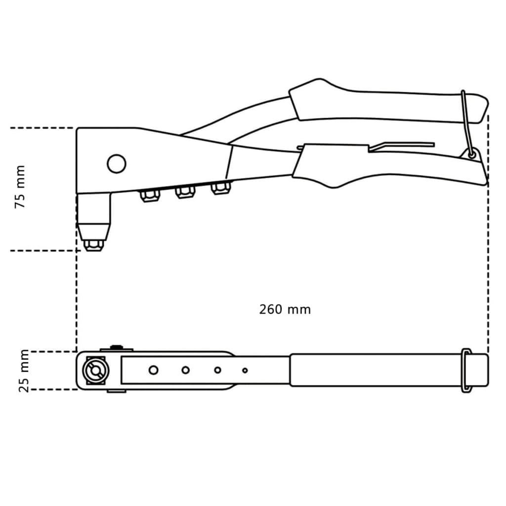 Acheter Betaa Tools riveteuse 1741B 017410000 pas cher