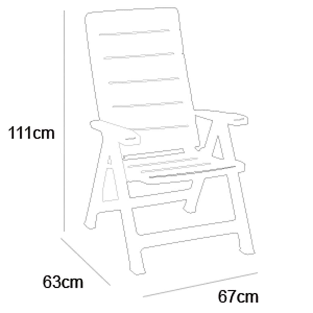 Acheter Allibert Chaise inclinable de jardin