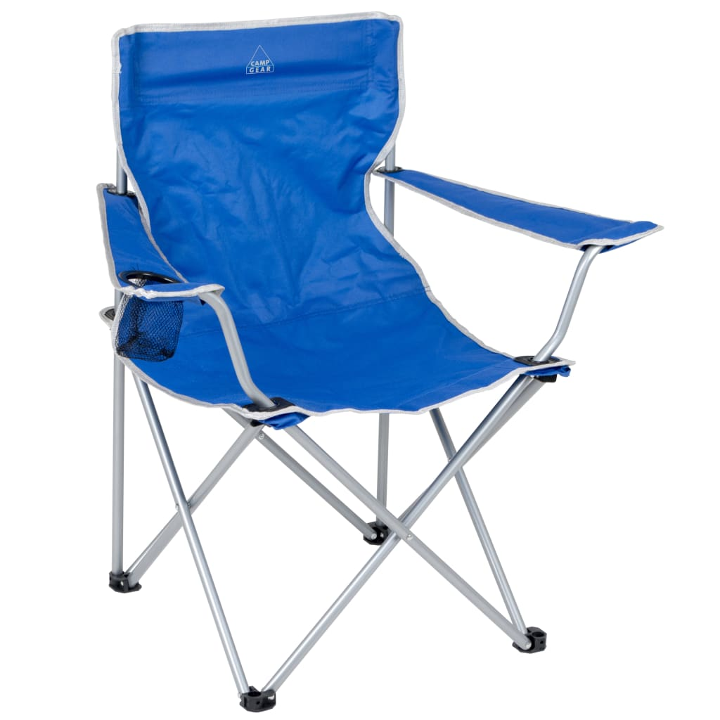 Camping Folding Chairs Camp Gear Folding Camping Chair Blue Aluminium 1267188