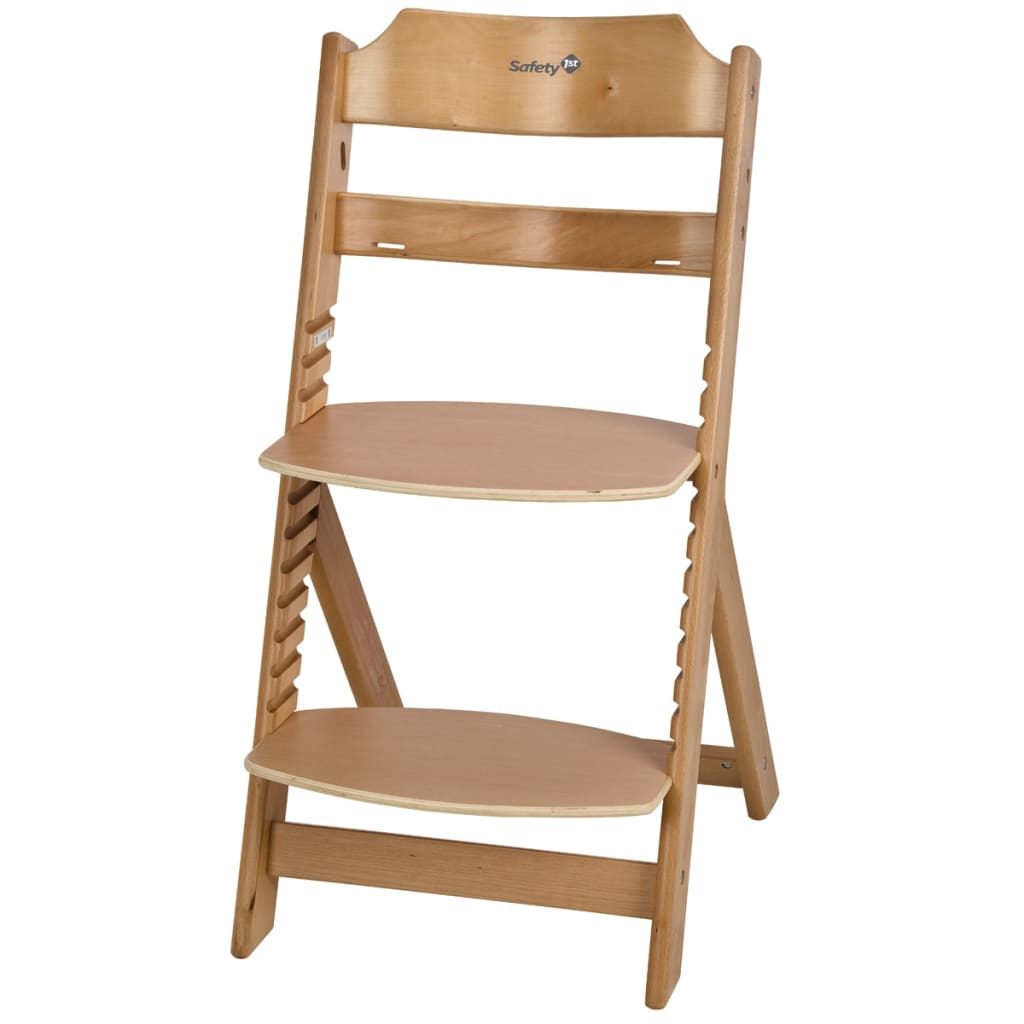 wooden baby high chairs uk leather chair and a half recliner safety 1st timba natural wood 27620100 vidaxl
