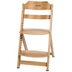 Wooden Baby High Chairs Uk Electric Chair Barber Shop Safety 1st Timba Natural Wood 27620100 Vidaxl