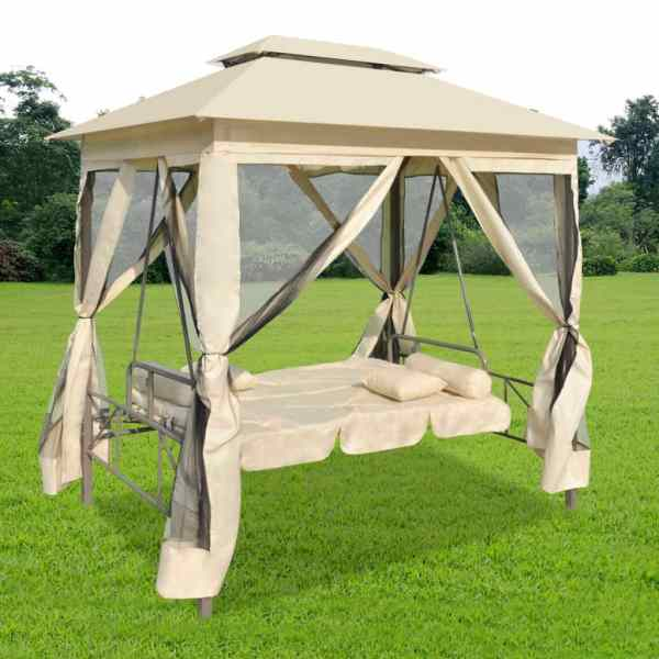 Patio Outdoor Gazebo Swing Canopy Hammock Seat Sunbed Sofa